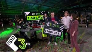 3FM Serious Request brengt 1.601.923 euro op voor Rode Kruis