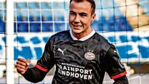 Weltmeister Mario Götze blijkt wonderwel op zijn plek bij PSV