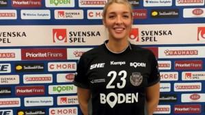 Corona bracht handbalster Klomp van Limburg naar Zweden: 'Omgeving is prachtig en mensen zijn heel aardig'