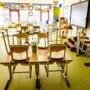 Leerlingen groep 8 van basisschool Amstenrade gaan toch gewoon naar school