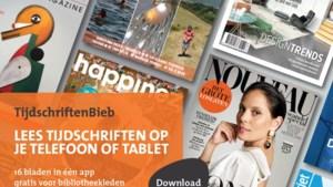 Gratis app voor e-tijdschriften van bibliotheek Peel en Maas