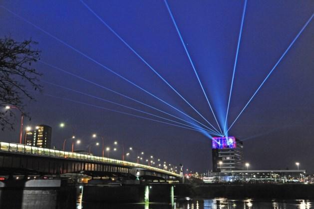 Lichtshow met 'verlichtende boodschap' voor inwoners gemeente Venlo