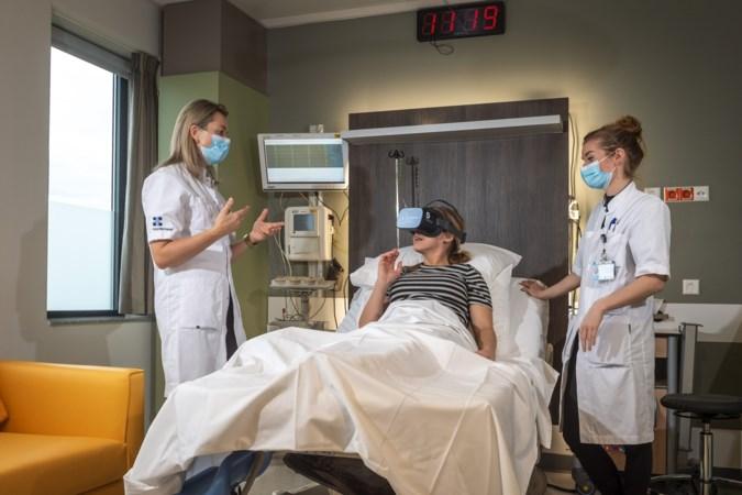 Virtual-reality-bril als alternatief voor pijnstilling bij barende vrouwen: 'Dit is de toekomst'