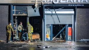 Explosie bij Poolse supermarkt in Tilburg