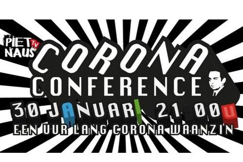 Corona Conference: licht verteerbare onzin en andere sketches vanuit Leveroy