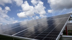 Duitse solarparkje pal over de grens bij Venlo
