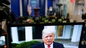 Trump noemt aanval op Capitool logisch gevolg verkiezingsuitslag