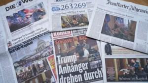 Wereldleiders veroordelen 'schandelijk' geweld in Washington