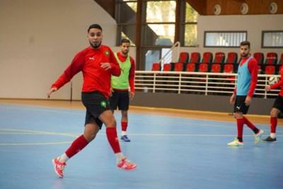 Tegelse zaalvoetballer Ilias Arssi schrok zich een hoedje toen hij voor het eerst met nationale ploeg meetrainde