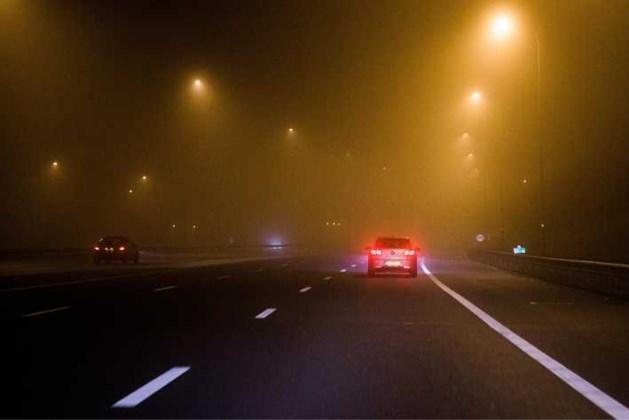 Code geel voor gladheid en mist in avond en nacht