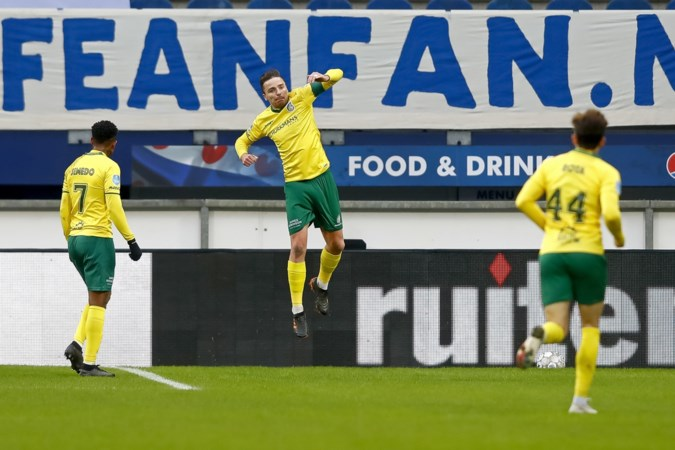 Fortuna blijft maar winnen, Sittardenaren verslaan Heerenveen na beste helft van het seizoen