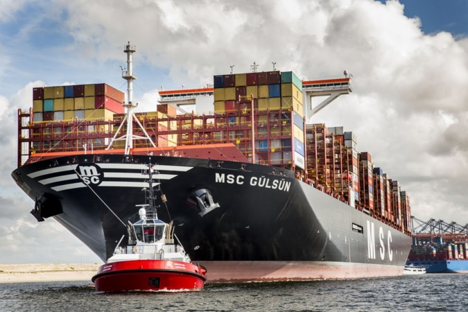 Transporteurs betalen zich blauw voor het huren van een zeecontainer