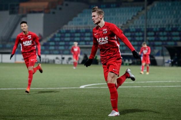 Bij MVV vertrokken Jelle Duin bezorgt Jong AZ zege in eerste divisie