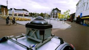 Auto maakt panoramafoto's in gemeente Venlo