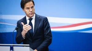 'Rutte vindt dat kabinet, ondanks toeslagenaffaire, kan aanblijven'