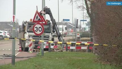 Video: Bijna duizend woningen zonder gas na lekkage in Urmond