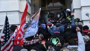Twee agenten geschorst en één arrestatie na bestorming Capitool