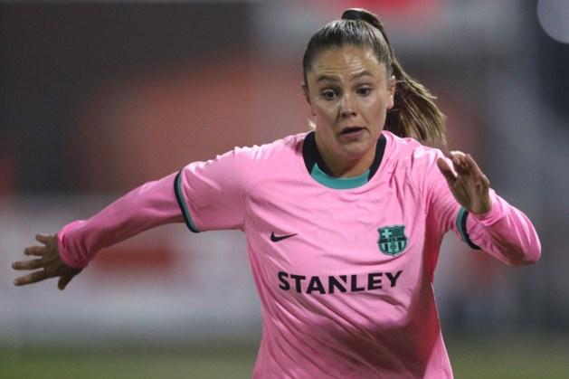 Voetbalster Lieke Martens aan de kant met beenblessure