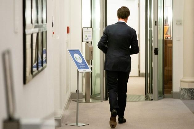 Rutte: vrijdag praten over politieke gevolgen toeslagenaffaire