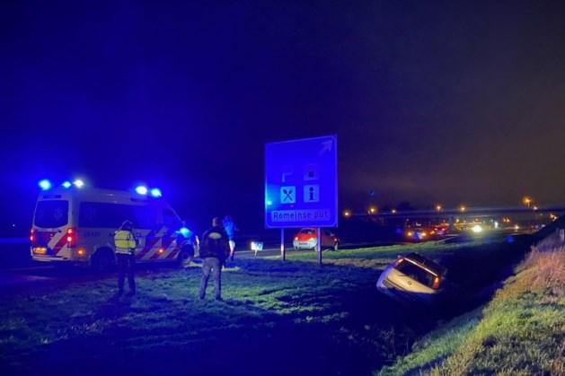 A73 enige tijd afgesloten na ongeval bij Oirlo