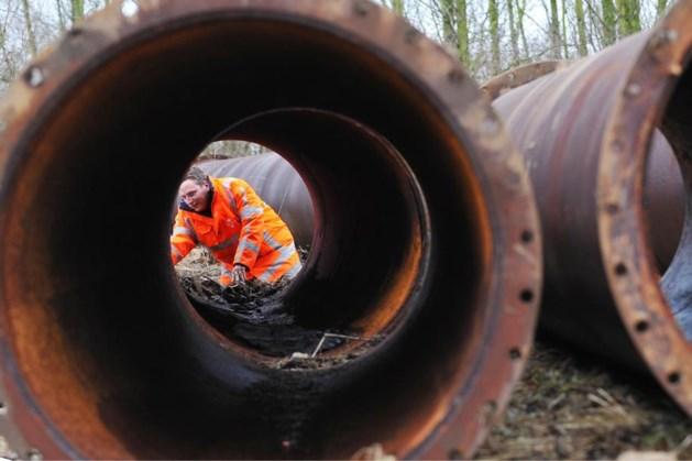 WML vernieuwt waterleidingen in Montfort