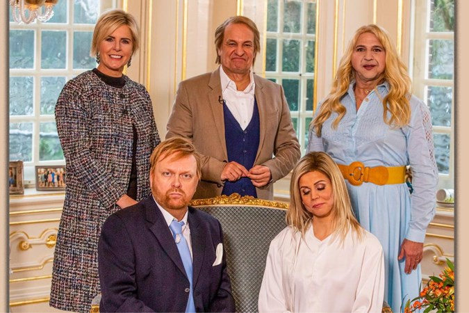 Hit of flop? Najib Amhali in De TV Kantine als prinses Amalia: 'Schaamteloos neergezet'