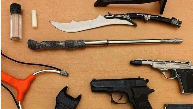 Drugs en wapens gevonden in Geleen