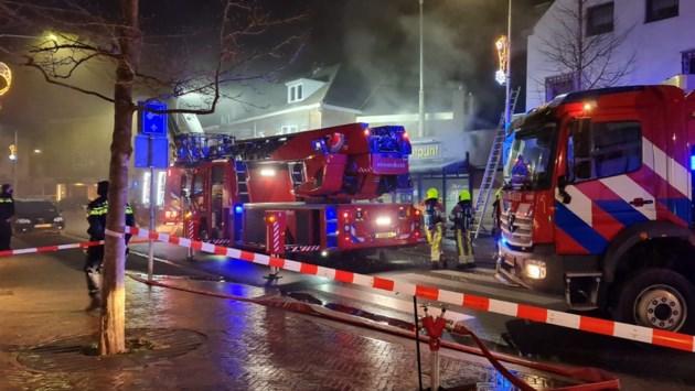 Veel rook door brand in snackbar in Kerkrade