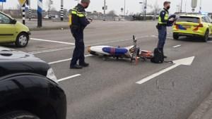 Motorrijder gewond bij ongeluk met bestelbusje in Venlo