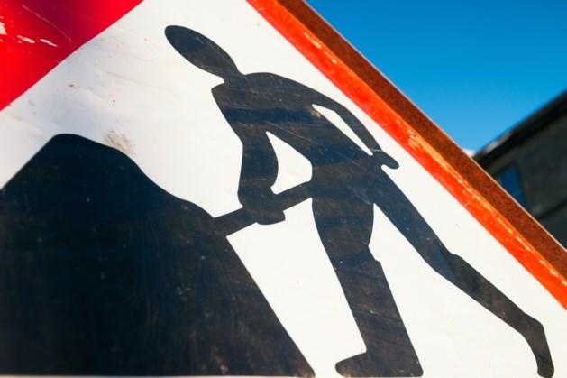 Ziggo werkt langs N598 bij Noorbeek, snelheid tijdelijk naar 30 kilometer per uur