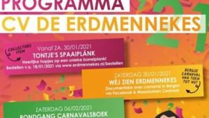 Carnavalsvereniging De Erdmennekes maakt alternatief programma bekend