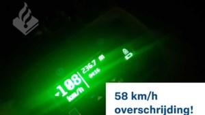 Automobilist met 108 per uur door bebouwde kom Wijlre, rijbewijs ingevorderd