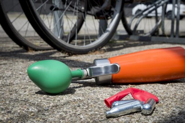 Actievoerders wijzen op gevaren gebruik lachgas in Weert
