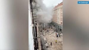 Video: Minstens twee doden en tien gewonden na explosie pand Madrid