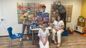 Speelgoed dankzij WeesWeerKind voor kinderafdeling Zuyderland