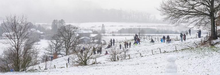 Dit weekend opnieuw kans op sneeuw