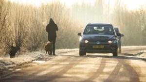 Code geel: waarschuwing voor gladheid in Limburg door winters weer