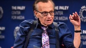 Talkshowhost Larry King (87) overleden aan corona: 'Een ongekend fenomeen'