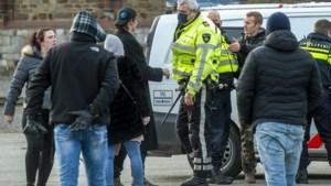 Identiteitscontrole smoort corona-kritische demonstratie Maastricht in de kiem