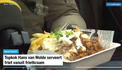 Gekkenhuis rond 'culinaire friet' van topkok Hans van Wolde: 'We gaan de komende weken door Limburg toeren'