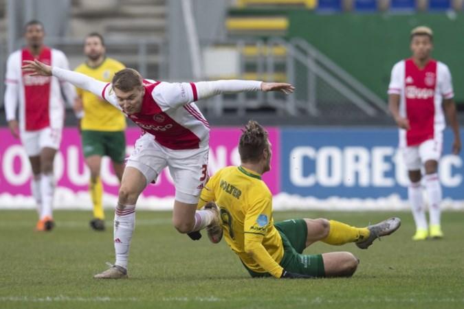 Perr Schuurs hoorde pas 's ochtends dat hij tegen zijn oude ploeg in de basis mocht beginnen: 'Dat het zonder publiek is, blijft wel heel erg jammer'