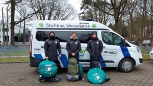 Jongens uit Zuid-Limburg lopen in 46 uur van Nijmegen naar Sittard voor Stichting Wensulance