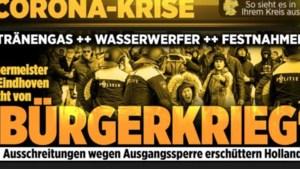 Buitenlandse media: 'Burgeroorlog in Nederland?'