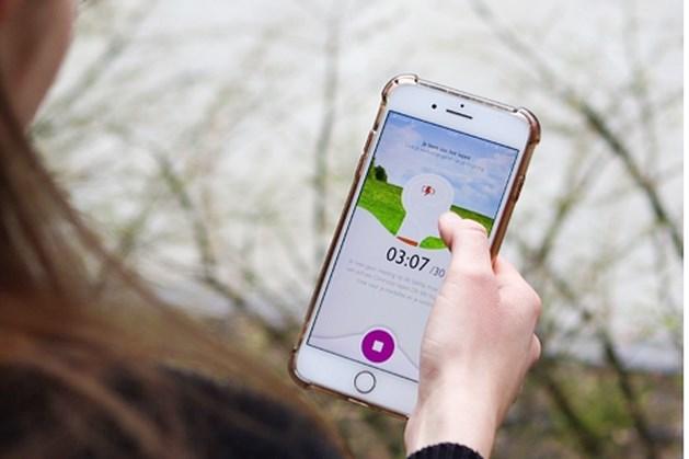 Wandelen met de 'ommetje-app' zorgt voor kleine competitie