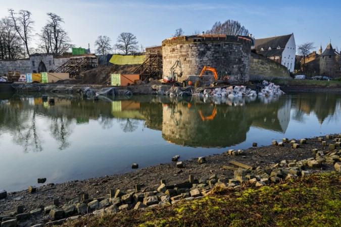 Verdere stabilisering van rondeel De Vijf Koppen in Maastricht moet instorting voorkomen