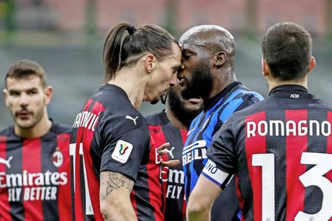 Flinke ruzie tussen oud-teamgenoten Romelu Lukaku en Zlatan Ibrahimovic
