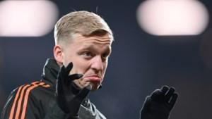 Invaller Donny van de Beek met Manchester United onderuit tegen hekkensluiter