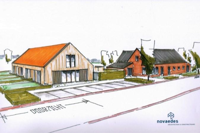 Gemeente positief tegenover plan voor zes woningen in Merselo