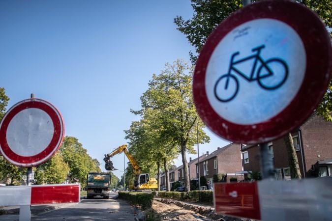 Fietspaden, trottoirs en weg van Sittard naar Wehr weer open