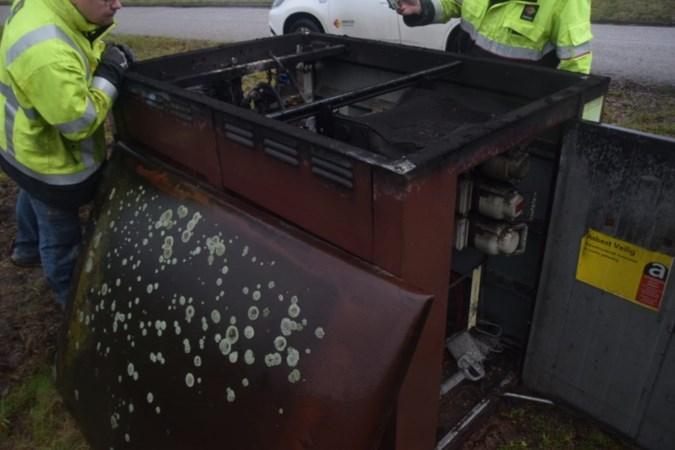 Brand veroorzaakt flinke schade aan transformatorkast in Venray: meerdere klanten zonder stroom